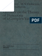 _Yu. V. Sidorov, M. V. Fedoryuk, M. I. Shabunin - Lectures on the Theory of Functions of a Complex Variable.pdf