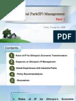 [Lecture 7] Industry Park(IP) Management 1_ParkYH