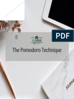 29 ThePomodoroTechnique ELearning 201901