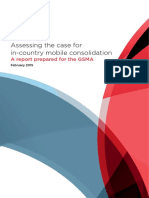 Assessing the Case for in Country Mobile Consolidation Report