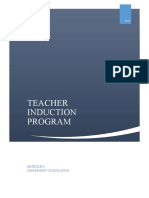 Teacher Induction Program Module 1 V1.0