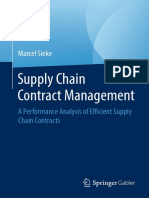 (Edition KWV) Marcel Sieke - Supply Chain Contract Management_ a Performance Analysis of Efficient Supply Chain Contracts-Springer Fachmedien Wiesbaden_Springer Gabler (2008)