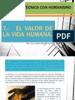 1.- El Valor de La Vida Humana