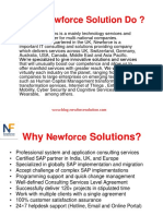 What Newforce Solution Do