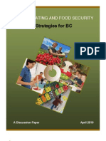 Healthy Eating and Food Security