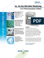 Real-time, On-line Microbial Monitoring