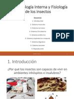 C4. Morfología Interna y Fisiología de Insectos