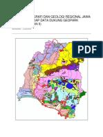 Fisiografi Dan Geologi Regional Jawa Barat