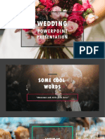 Wedding Even Management PPT-dark