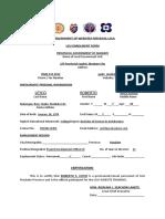 WebDev Enrollment Form