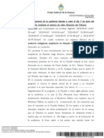 Ampliación de Indagatoria de Barreiro causa Stornelli D'Alessio
