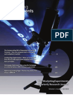 The MarketingExperiments Quarterly Research Journal, Q3 2010