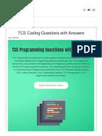 Prepinsta Com Tcs Coding Questions