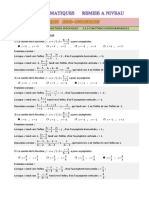 qcm 2451 fonctions homographiques corr