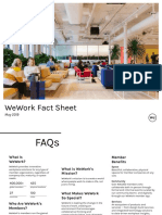 WeWork Fact Sheet