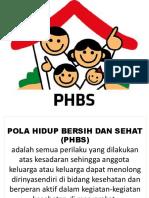 Phbs (Pola Hidup Bersih Dan Sehat)