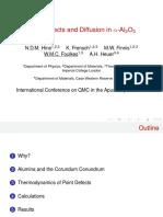 Diffusion in Al2O3