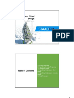 Cad (Staad.pro) - Chapter 3