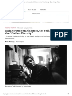 "Jack Kerouac on Kindness, The Self Illusion, And the ""Golden Eternity"""