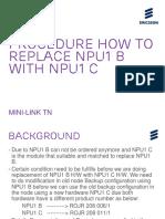 NPU Replacement