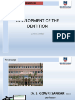 Development of DentitionUG Class