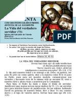 La Vida Del Verdadero Servidor (73) HORA SANTA Con San Pedro Julián Eymard.
