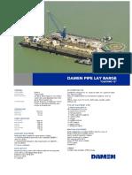 Pipe Lay Barge YN551003 Castoro DS