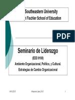 Sesion 4-EDD 9100 -Liderazgo y Cultura Organizacional