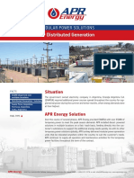 Case Study - Argentina Distributed Generation