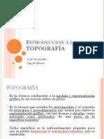 Curso Topografia Introduccion LNR1 2019-2019