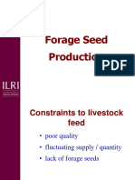 Forage Seed Production 1