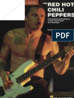 Lessons Bass Red Hot Chili Peppers - Signature Licks