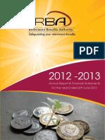 RBA Annual Report