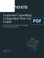 Cognosis War Gaming Guide