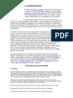 Características y manifestaciones