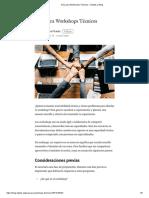 Guía Para Workshops Técnicos – Datank.ai Blog