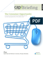 Executive Summary Private Equity Consumer Products