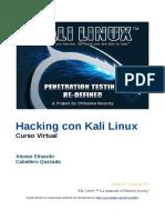 Guia Pentesting Kali Linux Opcional