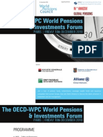 OECD World Pensions & Investments Forum (Paris) | Dec. 10, 2010 | INVITATION