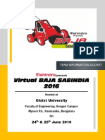 Virtual BAJA 2016 Information Docket