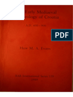Huw M. A. Evans - The Early Medieval Archaeology of Croatia (British Archaeological Reports (BAR))-British Archaeological Reports (1989).pdf.pdf