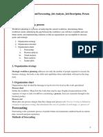 Workforce Planning Process