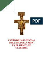 280884025 Canto de Las Letani as Para Iniciar La Misa en El Tiempo de Cuaresma Con Partitura