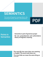 4. Semantics