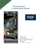 Telescope House 80mm Apochromatic Doublet v04