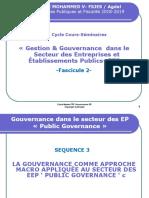 FSJES Rabat Master FPF Promo 2018-19 Gouvernance & Gestion EEP Fascicule 2