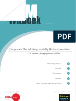 Corporate Social Responsibility & duurzaamheid