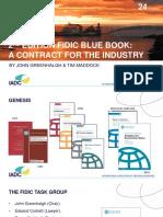 FIDIC Blue Book 2nd Edition - IADC Workshop