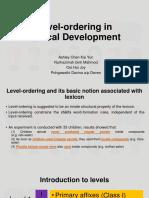 [HET 227] Level-Ordering