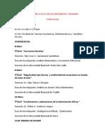 Programa Por El Día Del Matemático Peruano